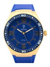 Fashion Track By Optima Mens Watch, blue, blue