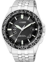 Citizen Eco-Drive Analog Black Dial Men's Watch– CB0027-51E