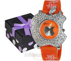 Geneva Ladies Fashion Watch (GAB-Orange)