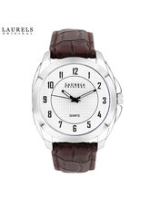 Laurels Diplomat Analog Silver Matt Dial Men's Watch-Lo-Dip-101