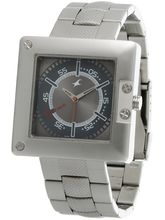 Fastrack SM Upgrades Analog Grey Dial Men's Watch– 3004SM02