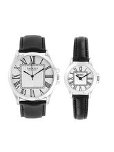 Laurels Liberal 2 Analog Silver Dial Couple's Watch-Lo-Lib-201