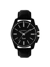 Laurels Trans Series Black Men Watch (LO-TRS-101)