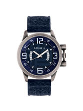 Laurels Europha Analog Blue Dial Men's Watch-Lo-Eu-203